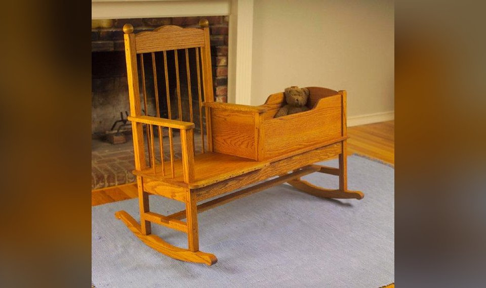 Diy Rocker Cradle An Easy Family Heirloom