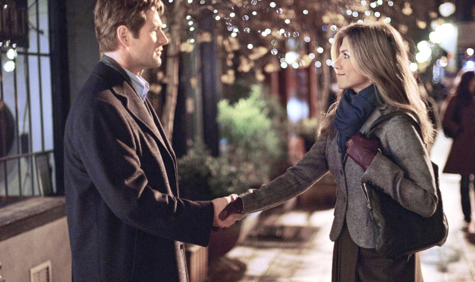 Related Photos Aaron Eckhart And Jennifer Aniston Star In Love Happens Universal Pictures Photo
