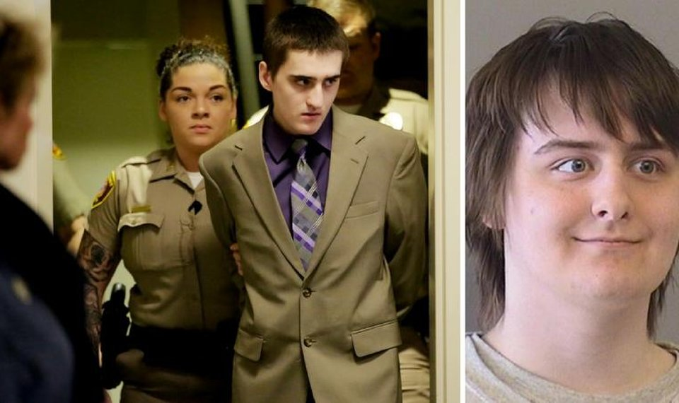 Robert Bever sobs during testimony in younger brother's