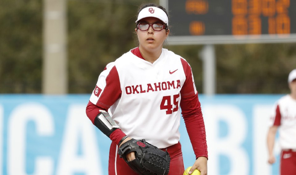 Juarez pitches perfect game as Sooners win twice