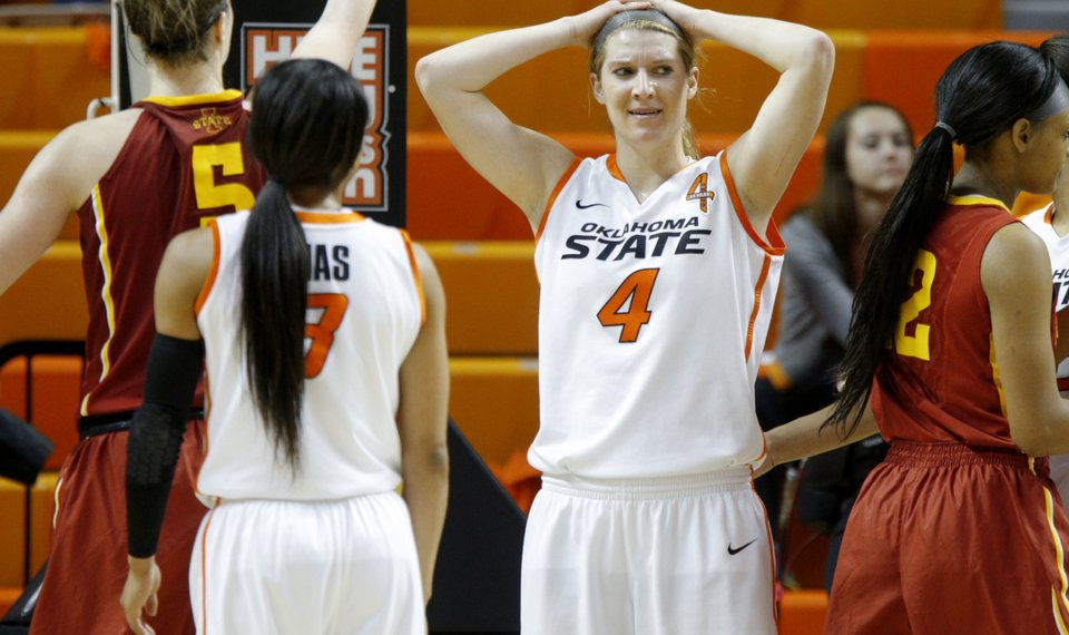 low priced cdee7 2965c Oklahoma State basketball: Iowa State upsets No. 15 Cowgirls
