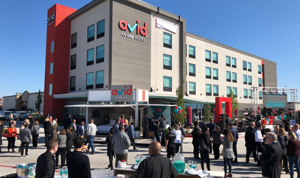 The First Avid Hotel In World Opened Thursday Oklahoma City At 2700 Nw 138