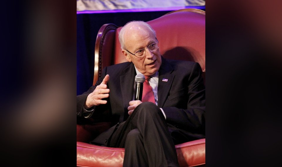 Former Vice President Dick Cheney was keynote speaker during an event  sponsored by Integris Advanced Cardiac