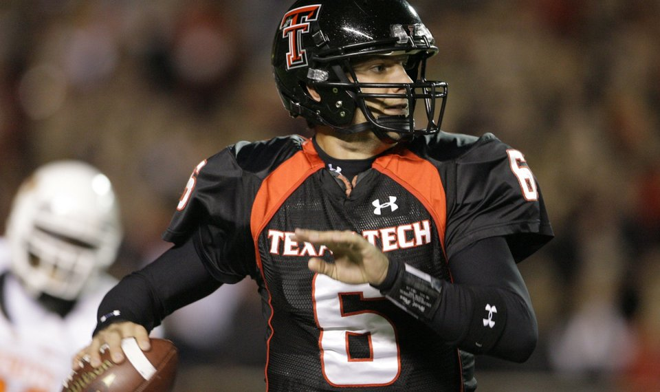 Former Texas Tech Quarterback Graham Harrell To Join