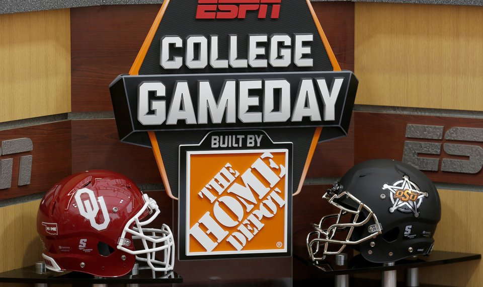 Bedlam Football Espn S College Gameday Heading To Norman
