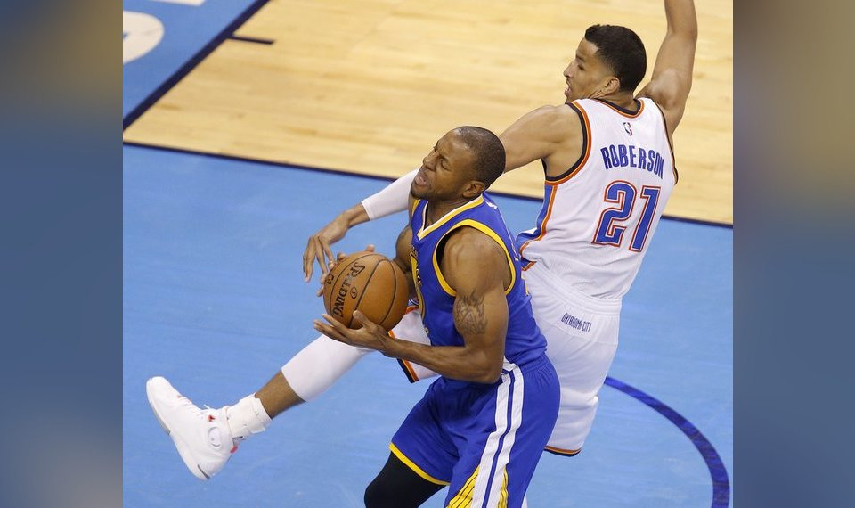 0310d2a1f4d2 Thunder journal  Golden State s Andre Iguodala says OKC was best ...
