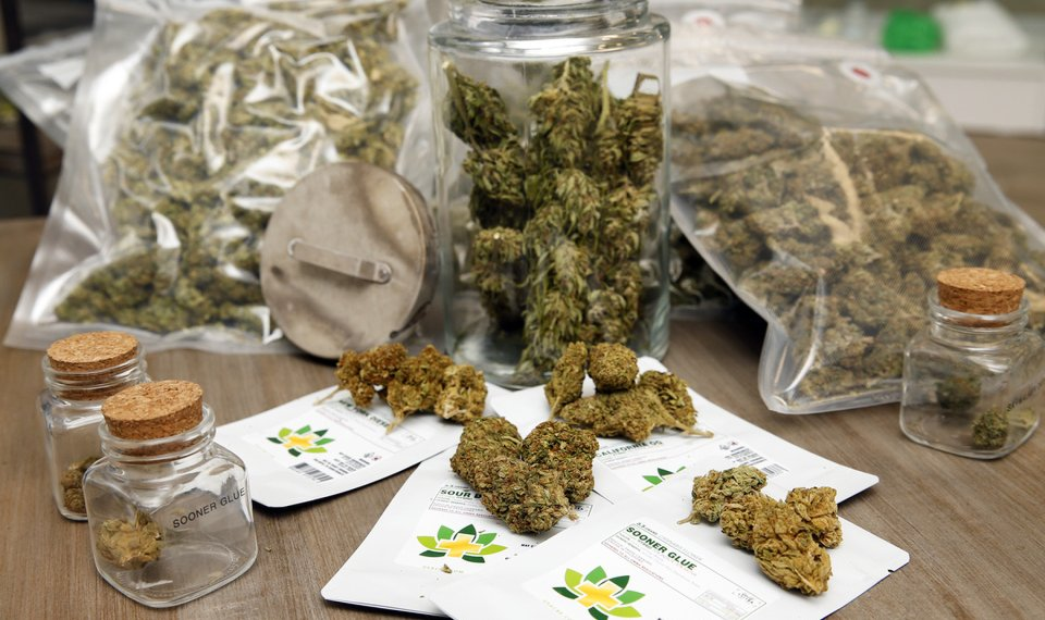 Some Oklahoma medical marijuana dispensaries are now selling