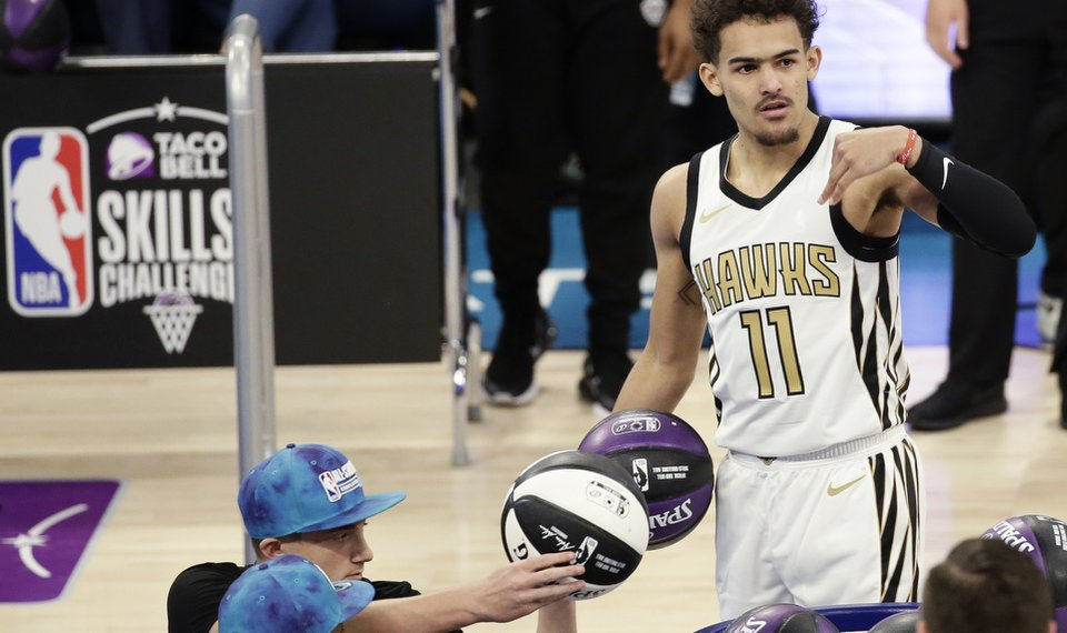 finest selection d5a4d da6f8 Trae Young announces Oklahoma City basketball partnership