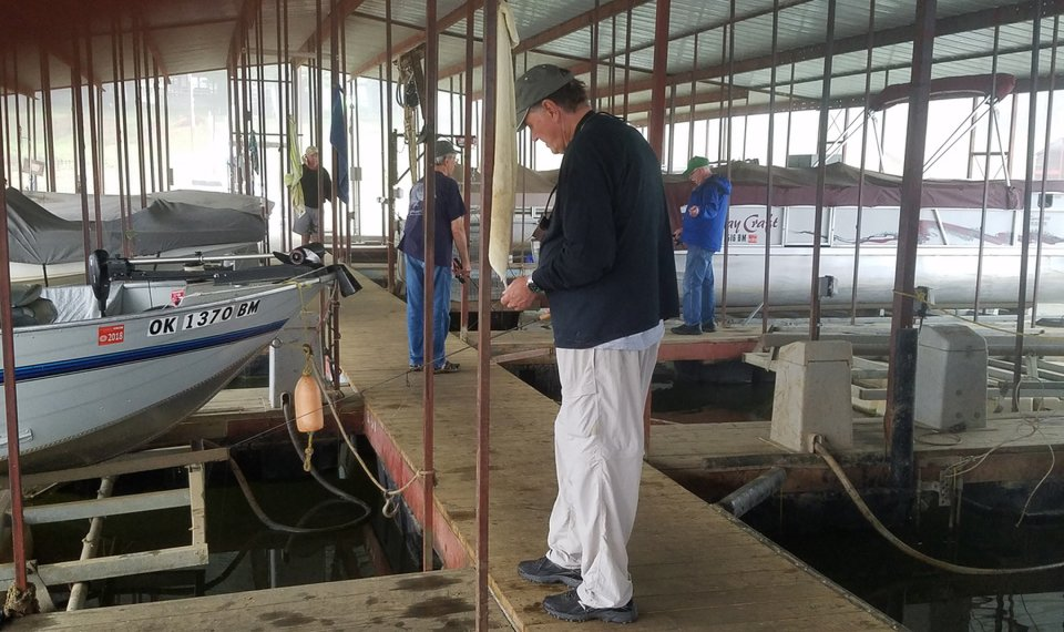 A CRAPPIE WAY OF LIFE: On Lake Eufaula, crappie is king fish
