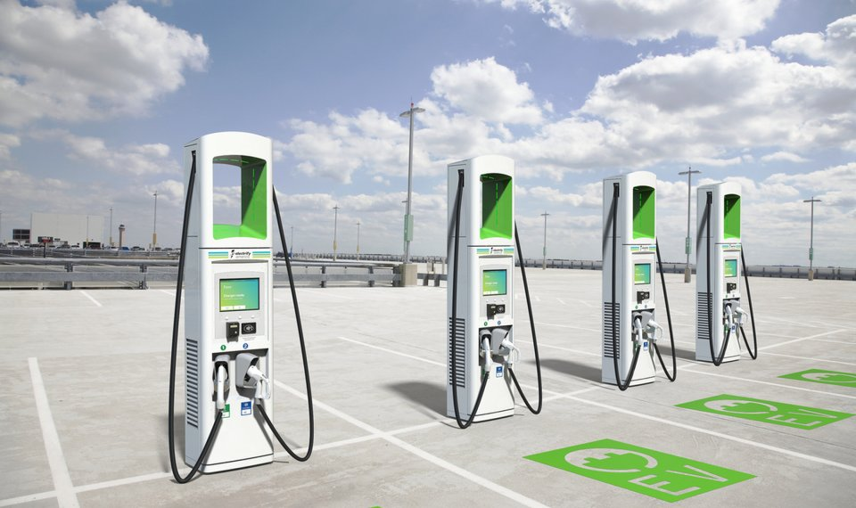 This Ilration Displays Chargers Electrify America Plans To Install At More Than 100 Locations Across