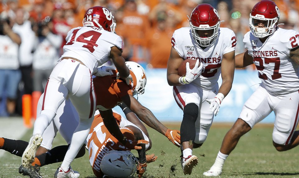 OU football: Kennedy Brooks reflects on injury scare