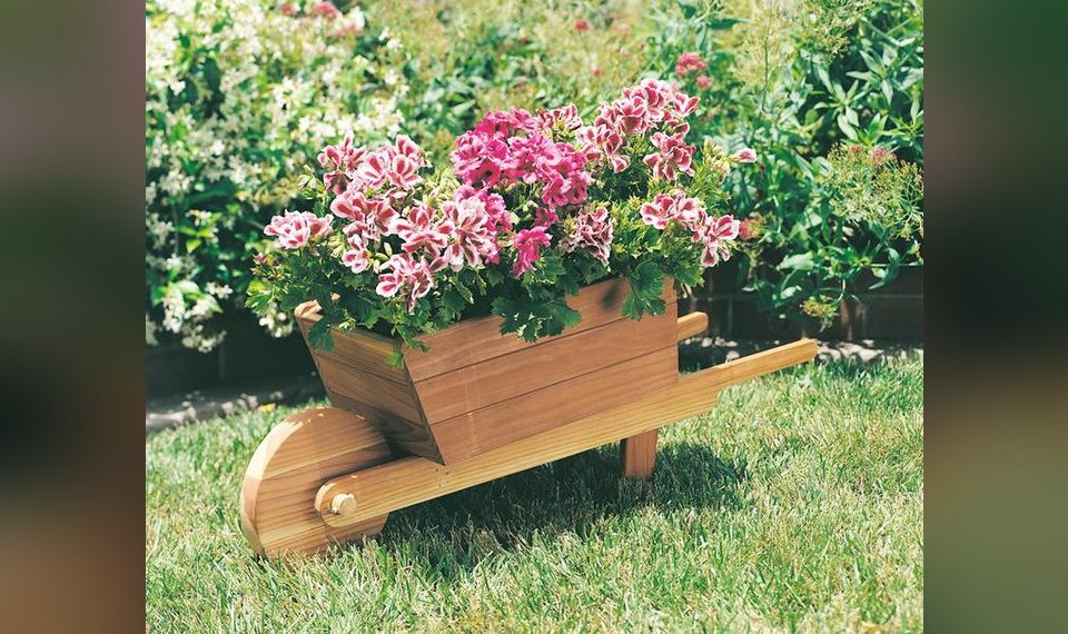 Wheelbarrow Planter Is A Garden Classic For All Seasons