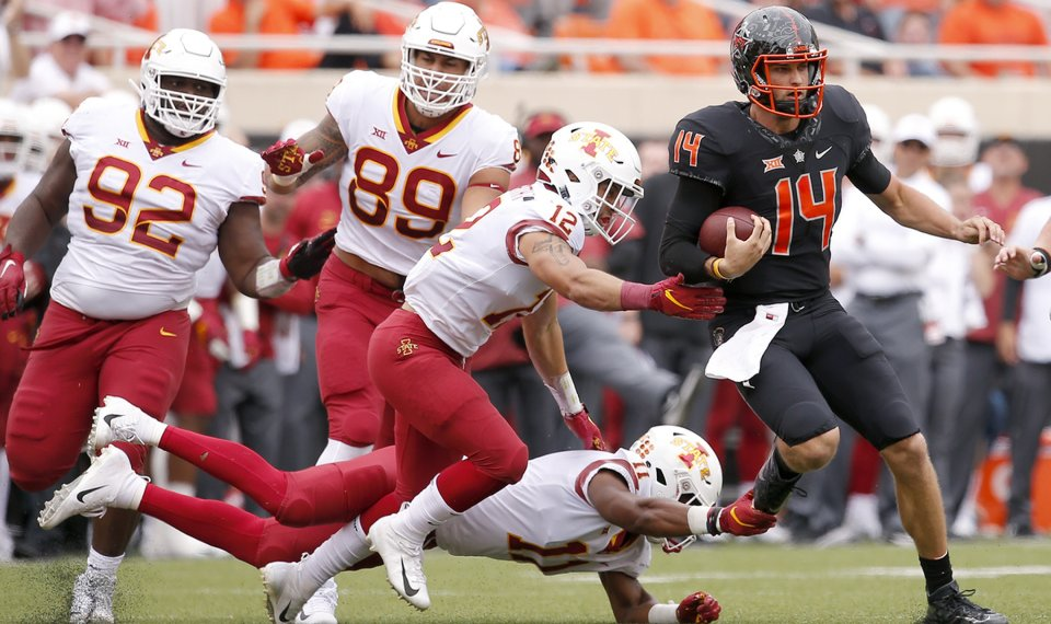 Taylor Cornelius isn't the problem for middling Oklahoma State