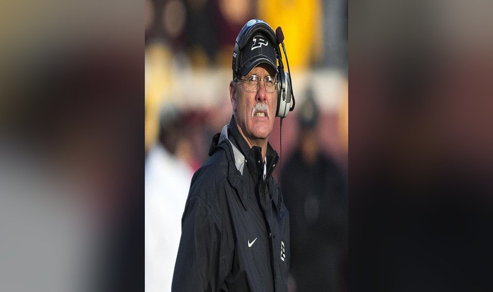 Purdue S Danny Hope Is This Week S National College Football Coach