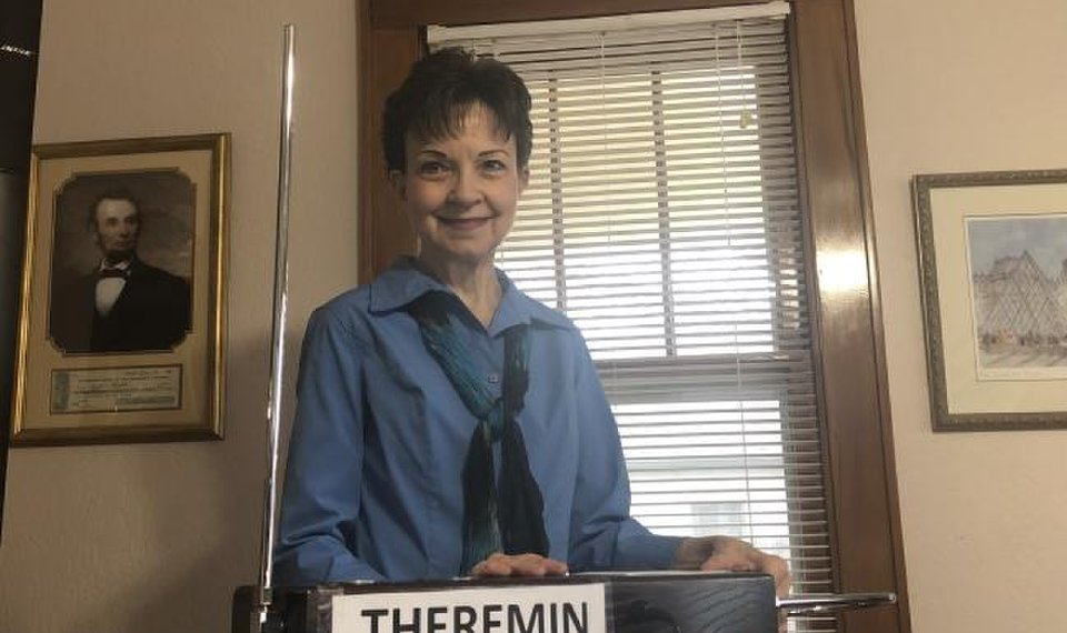 Eerie sound of the theremin can be heard in Oklahoma City