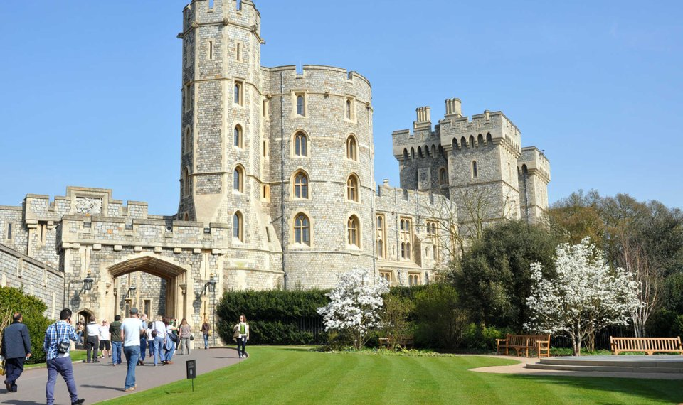 Less Than An Hour From London Windsor Castle Is The Weekend Home Of Queen Elizabeth