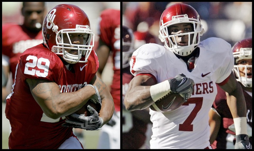 Sooners Others Turn To Two Running Back System