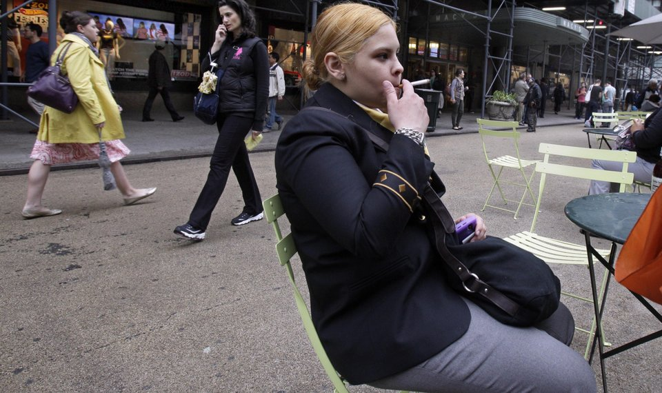 Ban in NYC parks has smokers in a huff