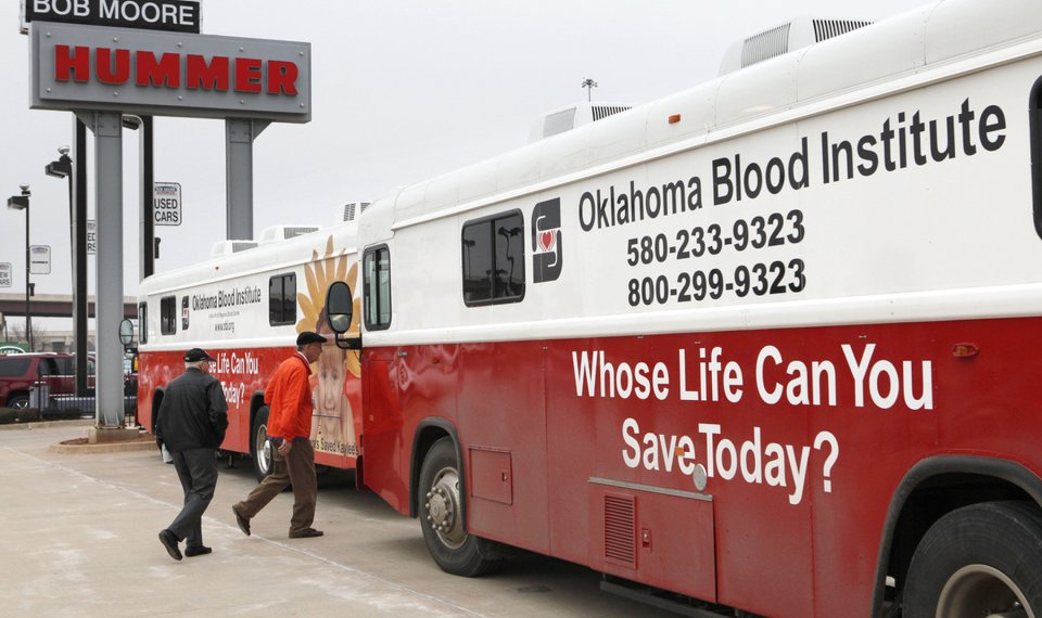 Can you be too old to donate blood?