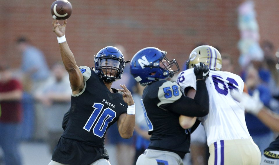 High school football: Casey Thompson leads Newcastle to ...