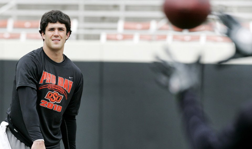 Zac Robinson Turns In Another Strong Performance At Osu Pro Day