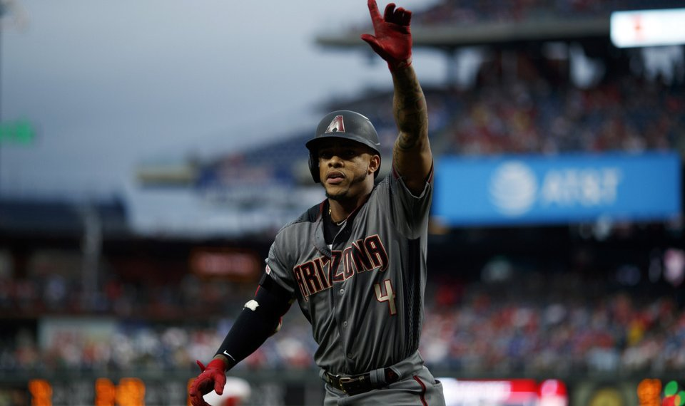 D'backs beat Phillies 13-8, teams combine for record 13 HRs
