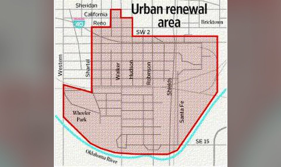 Oklahoma City has plans for blighted area south of downtown on