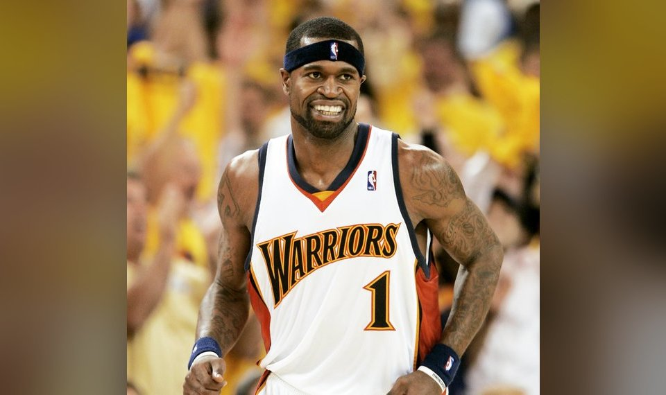 Stephen Jackson and the 2007 Golden State Warriors are one of only three  No. 8 72945b4a9
