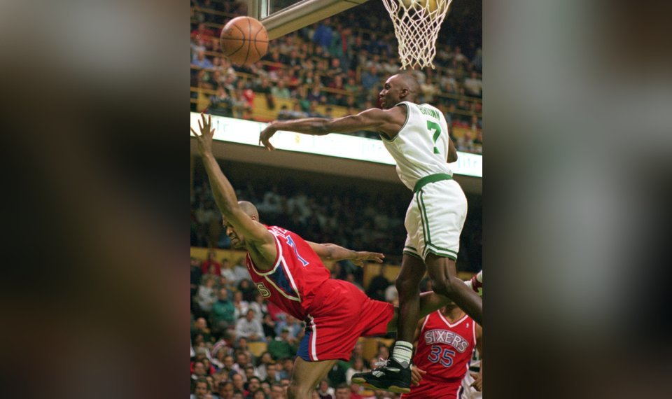 NBA QA With Dee Brown 1991 Slam Dunk Champion