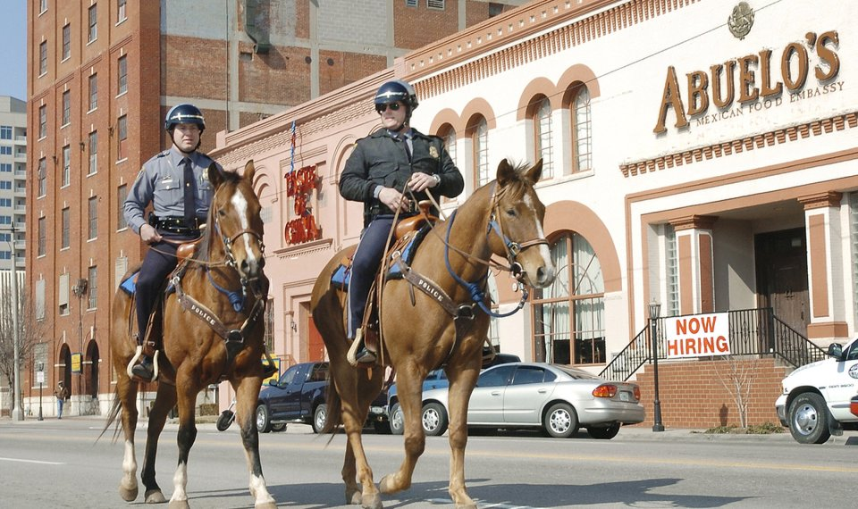 Oklahoma City Police Department gets funding to feed horses it hasn
