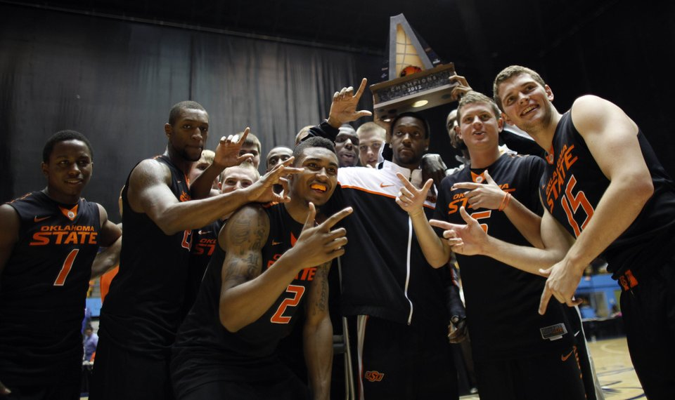 Oklahoma State Men S Basketball Cowboys Upend No 6 Ranked