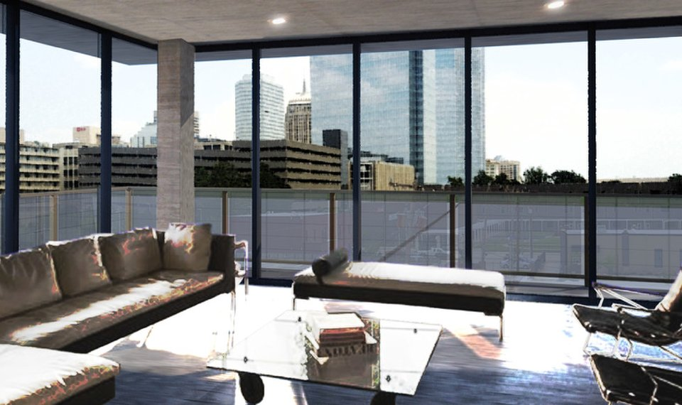 high end living coming to film row near downtown oklahoma city