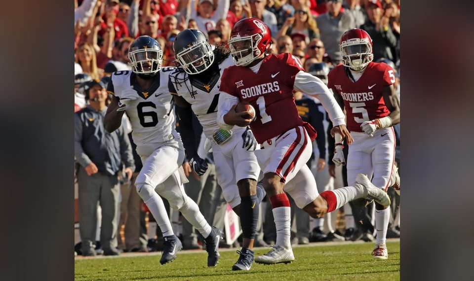 5dd69099b54 Soon-to-be redshirt junior Kyler Murray is in contention for the starting  quarterback