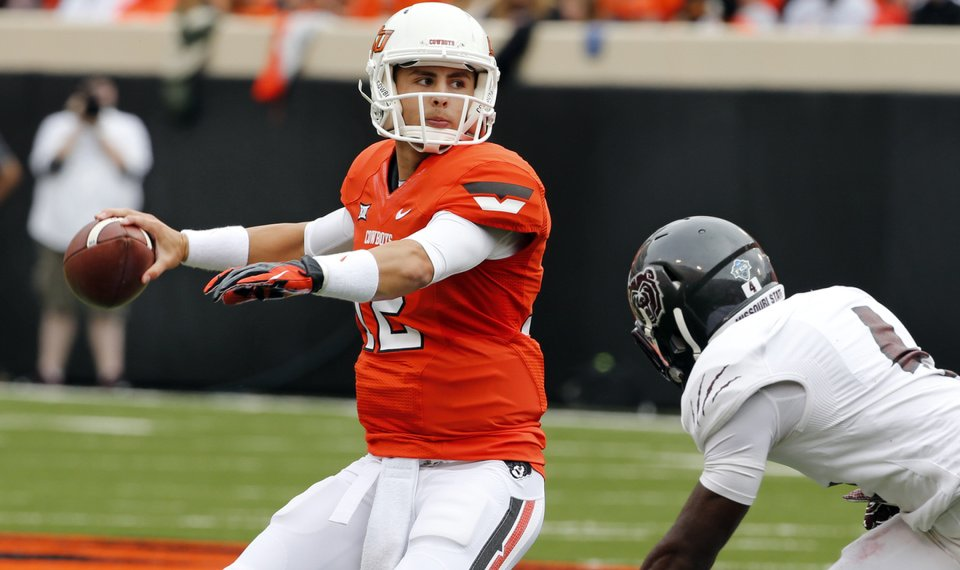 9362f296c20 Oklahoma State football: For quarterback Daxx Garman, opportunity at ...