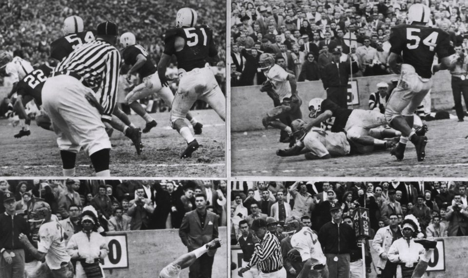 8e3fde51ba9 Related Photos This sequence shows the touchdown Notre Dame scored, the  only touchdown of the game,