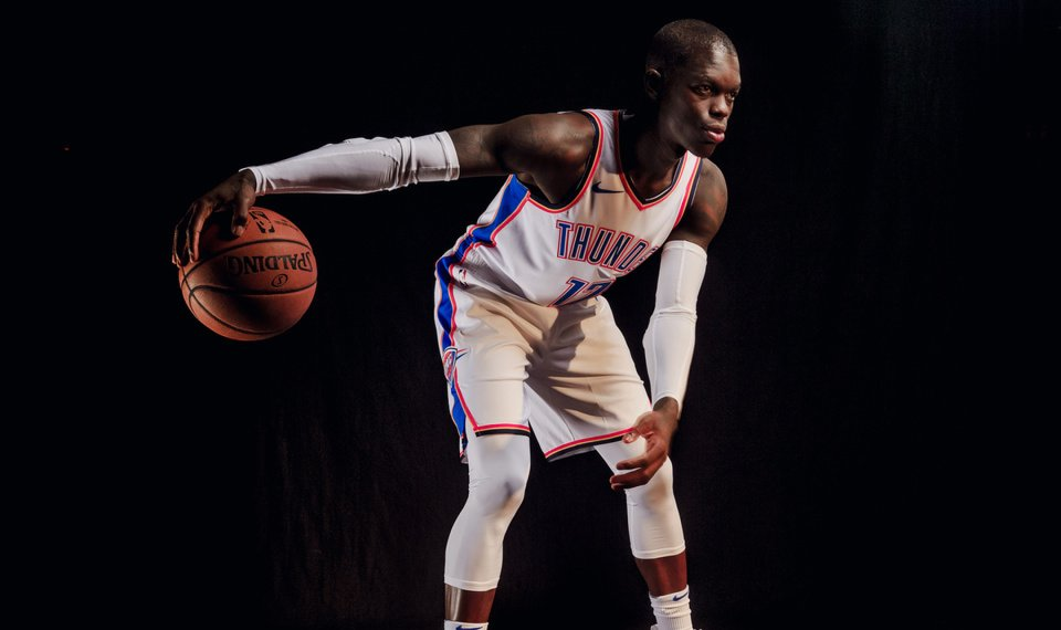 First-year Thunder guard Dennis Schröder averaged 12.9 points and 4.8  assists in five seasons 30a0431a4