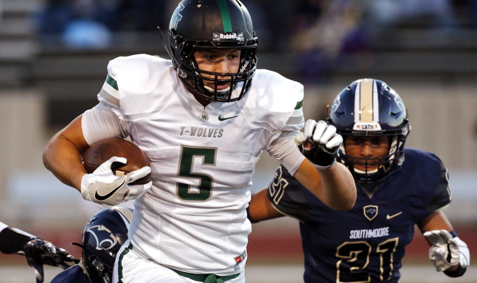 0a9b8f040 Charlie Kolar (5) and the Norman North Timberwolves will get their toughest  test yet