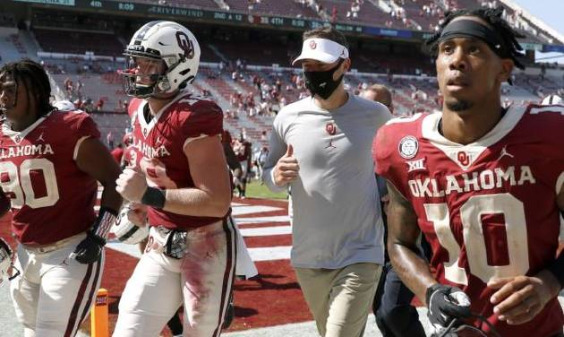 Ou Football Lincoln Riley Says Sooners Need To Ditch Cruise Control Mentality After Taking Big Leads