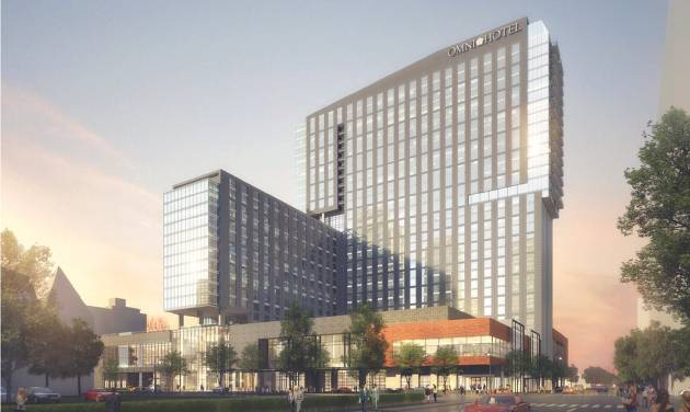 The 612 Room Louisville Omni Is Being Built With City Providing 104 Million Toward