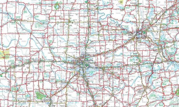 Oklahoma Road Projects During Thanksgiving Travel News OK - Oklahoma road map