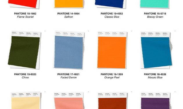 Pantone Spring 2020 Colors.Looking Ahead Spring 2020 Fashion Color Trends
