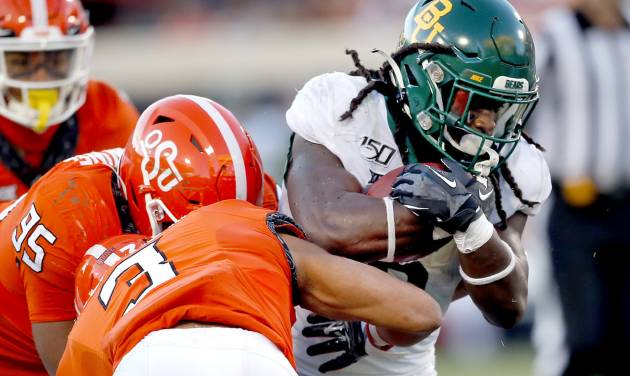 Osu Football Defense Falters Late In Loss To No 18 Baylor