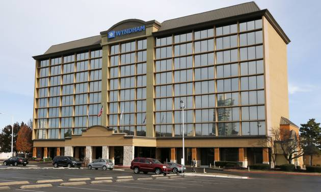 The Nine Story Wyndham Hotel Formerly Crowne Plaza At 2945 Northwest Expressway Was Closed Wednesday And Thursday Over Unpaid Ta