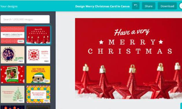 App finder top apps for creating holiday cards and invitations canva card maker photo provided stopboris Gallery
