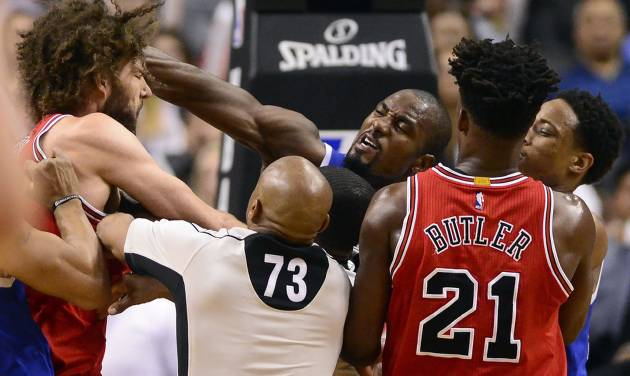 Robin Lopez, Serge Ibaka get 1-game suspensions for fighting