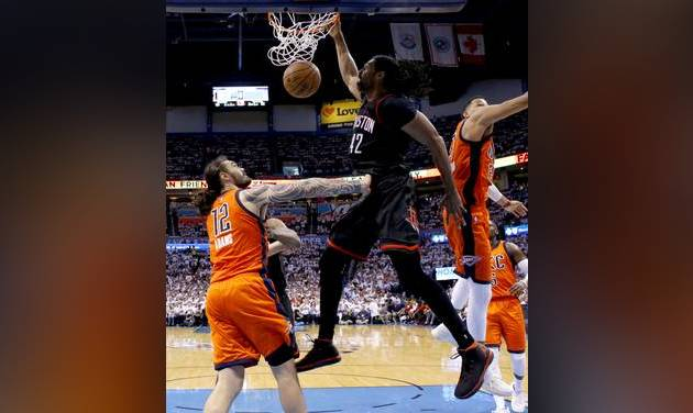 Nene's ideal  game puts Thunder on the brink