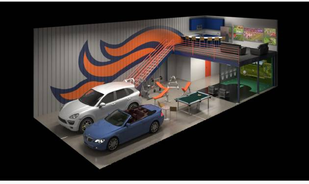 Man Cave Garage Rental : Climate controlled garage condos of oklahoma breaks ground in edmond