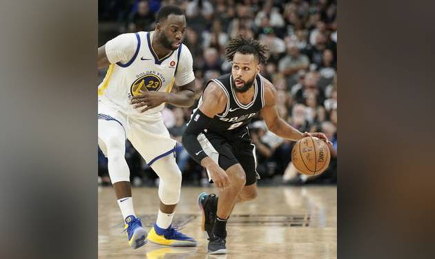 61e7865a31a2 Spurs stay alive vs Warriors behind Ginobili s big finish