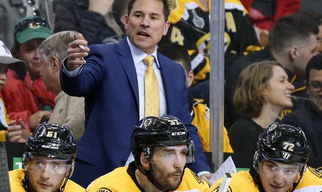 Bruce Cassidy named Bruins' permanent head coach
