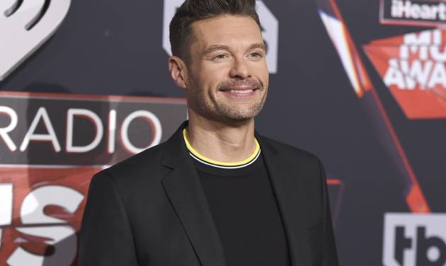 Ryan Seacrest officially confirmed as Kelly Ripa's Live co-host